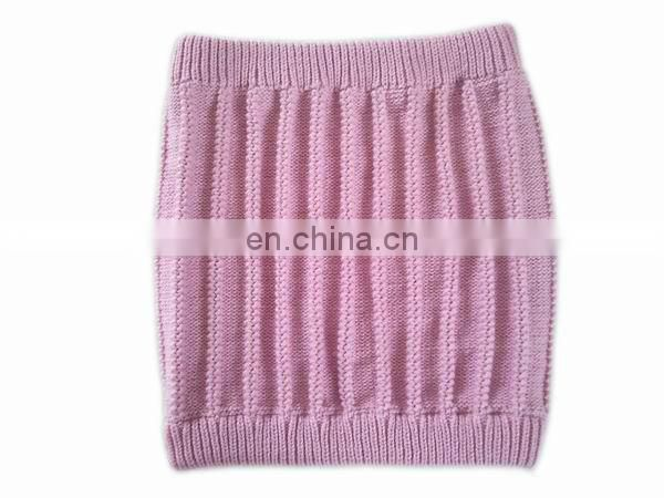 100% Acrylic jacquard knitted neck warmer