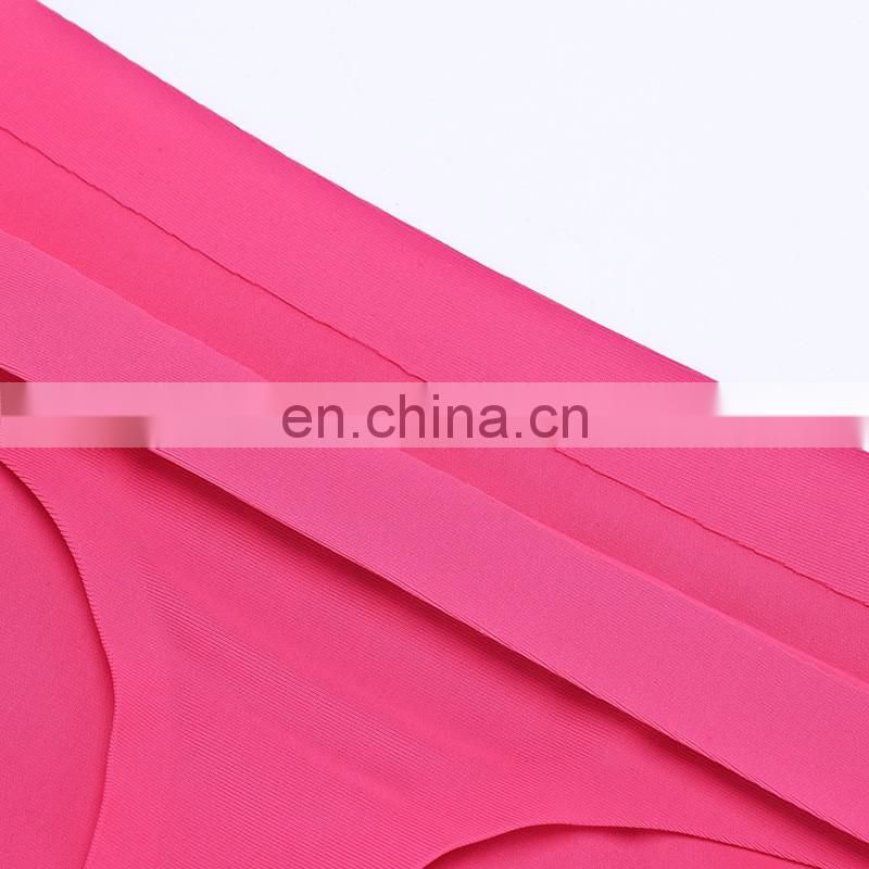 Seamless ice silk women panties on stock