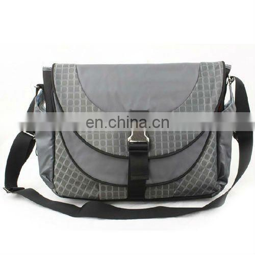 new style grey shoulder lapyop bags with high quality