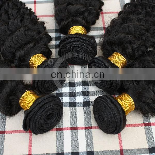 YOUTH BEAUTY HAIR 2017 fashionable raw unprocesssed deep curl brazilian virgin remy hair weaving top quality 7a 8a grade hair