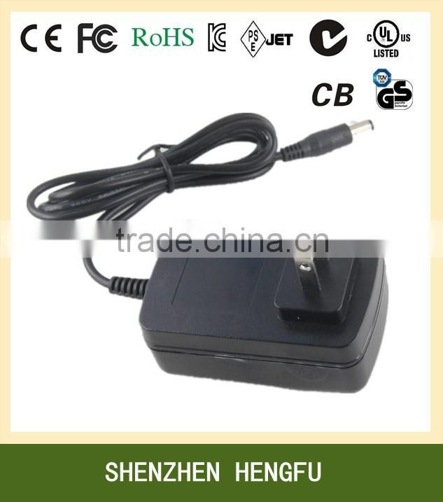 Manufacturer 18V 1.5A 2A LED Power Supply with CCC 19510