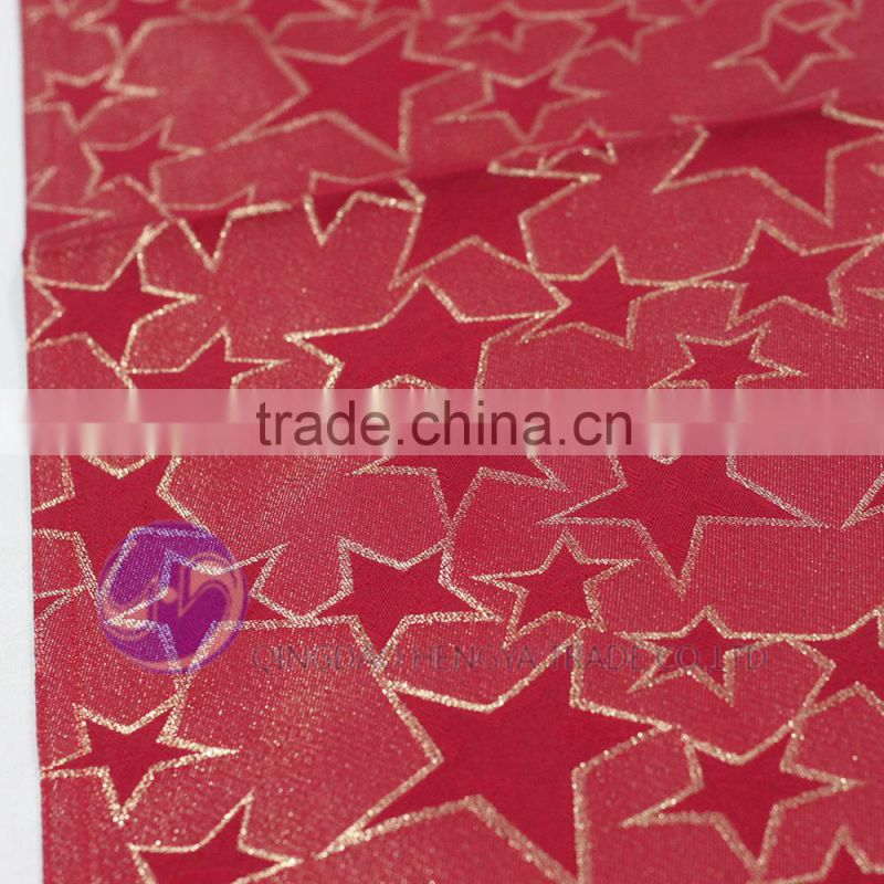 RED Chinese Brocade Satin Table Runner for Wedding Decoration