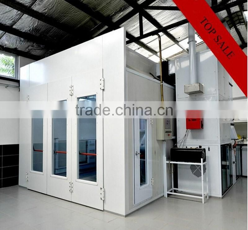 High Quality Infrared Heating System Spray Booth Factory Car Paint