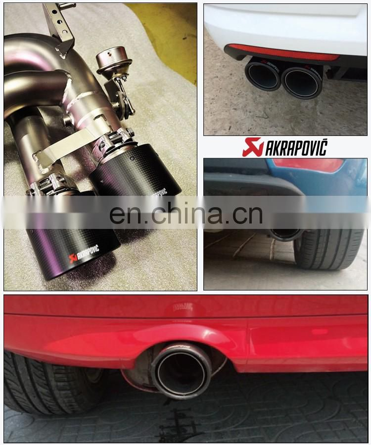 Akrapovic Scorpio AK carbon fiber tail exhaust pipe mouth tail throat golf 7 dedicated exhaust pipe