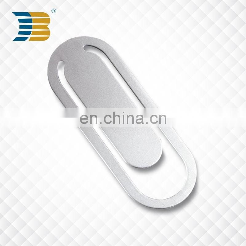 fashion shaped blank metal custom bookmarks for wholesale