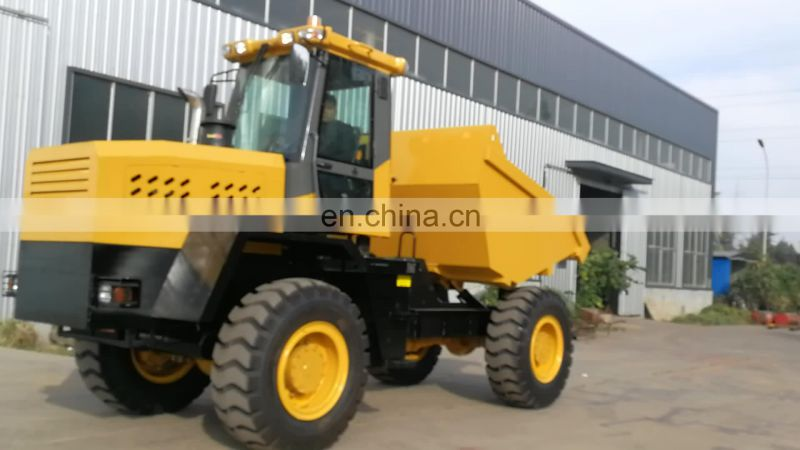 Short transport machinery superior FCY100 Loading capacity hydraulic dumper manufacturer Image