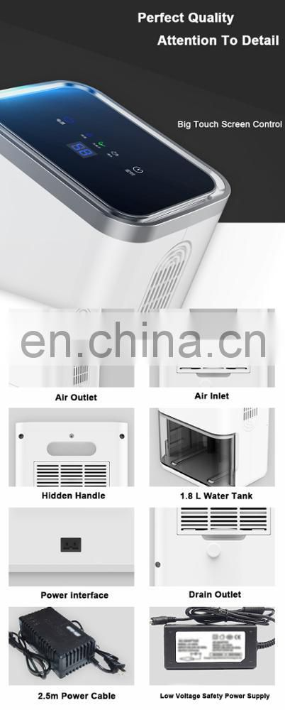 600ml easy taken popular portable home use dehumidifier