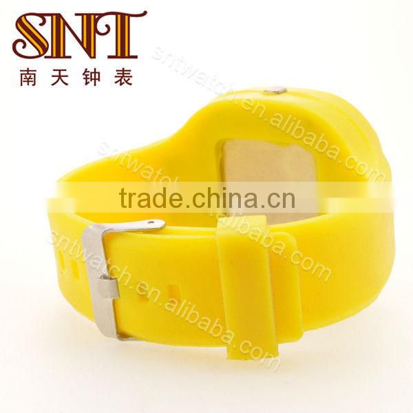 SNT-SI006A big silicone watch fashion big case silicone wristband watch