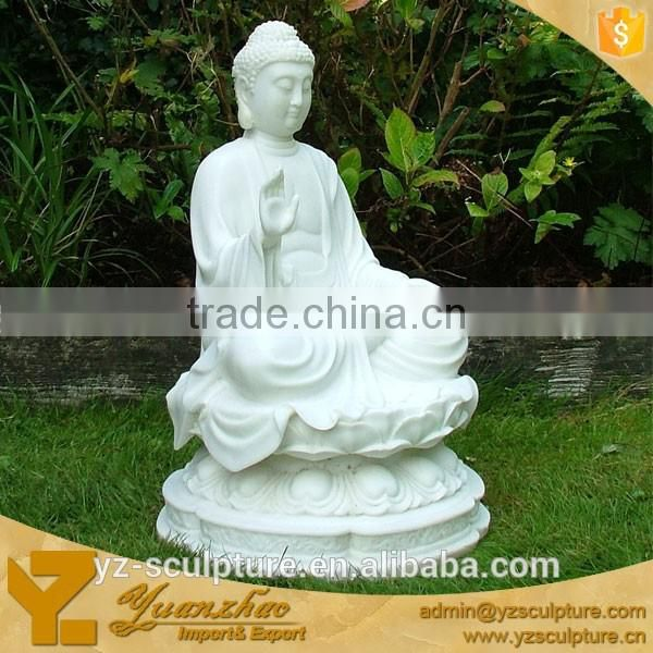 large white marble buddha statue for sale