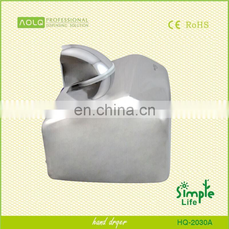 Toilet stainless steel electric hand dryer suppliers in
