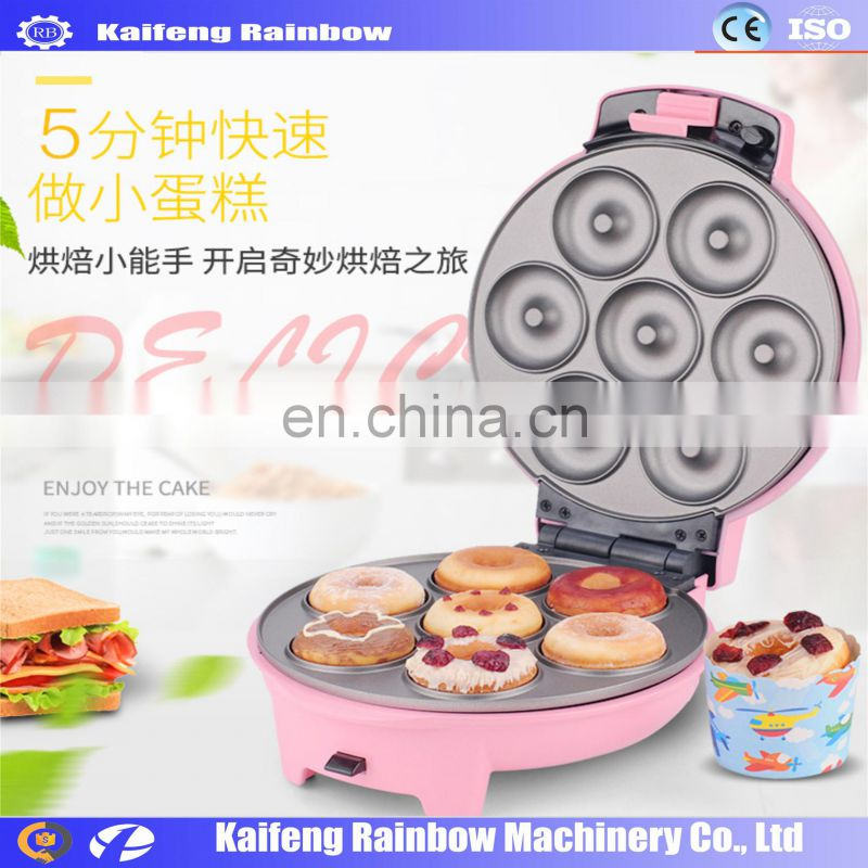Multifunctional Mini Donuts Baking Machine automatic doughnut machine/ mini Donut Making Machine for home use