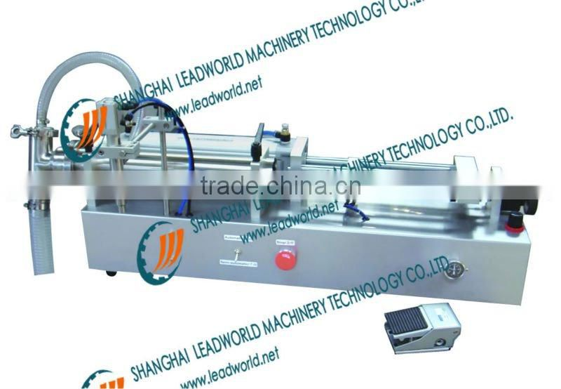 two-head pneumatic tomato juice filling machine