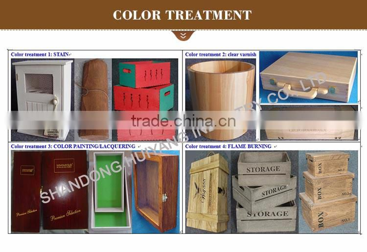 Promotional Custom design wooden sewing box wood Fold-Out Accordion Sewing Craft Storage Box