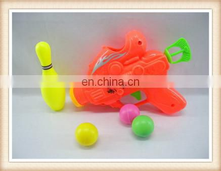 plastic ball shooting gun toy