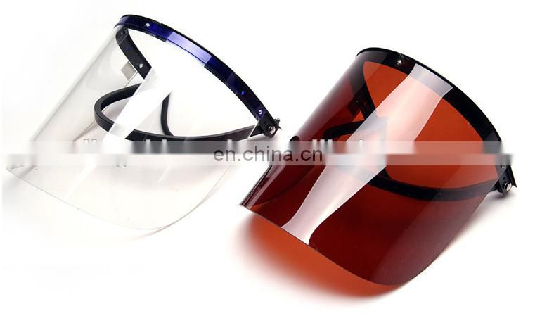 economic face shield, safety face mask with plastic shield