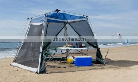 Factory sell Automatic mesh beach shelter Automatic mesh camping tent Automatic mesh beach shade screen house