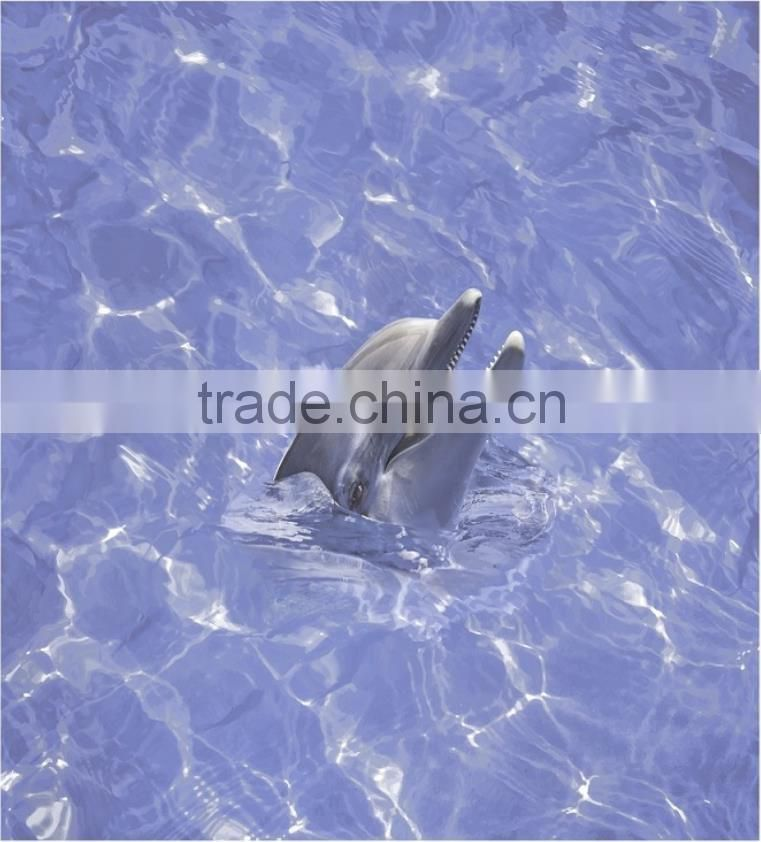 dolphin design bathroom tiles national pool tile blue cobalt bl 0