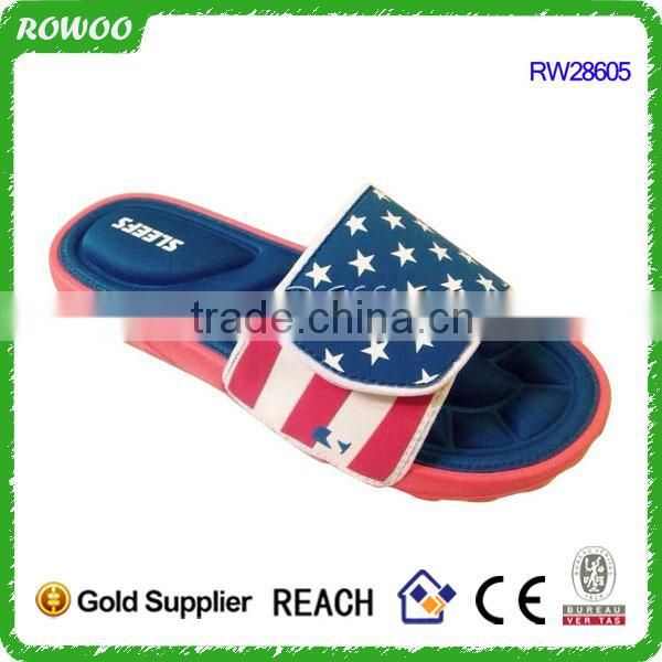 Latest comfortable women memory foam slippers and insole, women fashion Massage sandals
