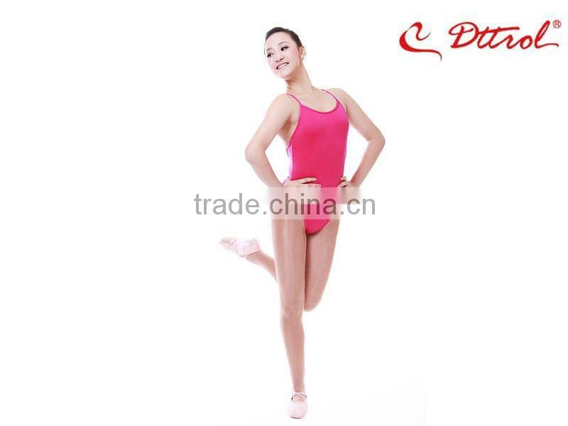 D004853 Dttrol wholesale gymnastics high cut thong leotard fabric