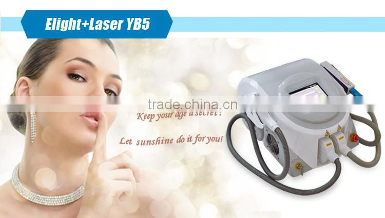 CE approved Professional 2 in 1 skin laser machine for tattoo removal