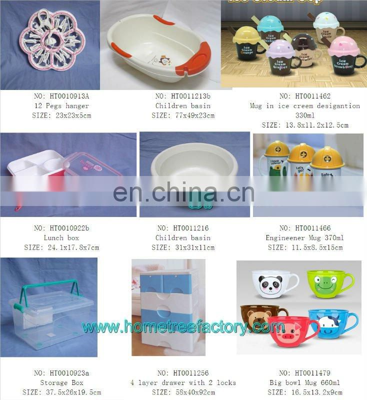 PS cosmetic storage box,cosmetic box with mirror,cute plastic cosmetic box