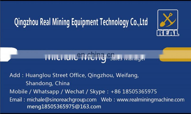 River sand gold mining bucket chain gold dredger for gold and diamond