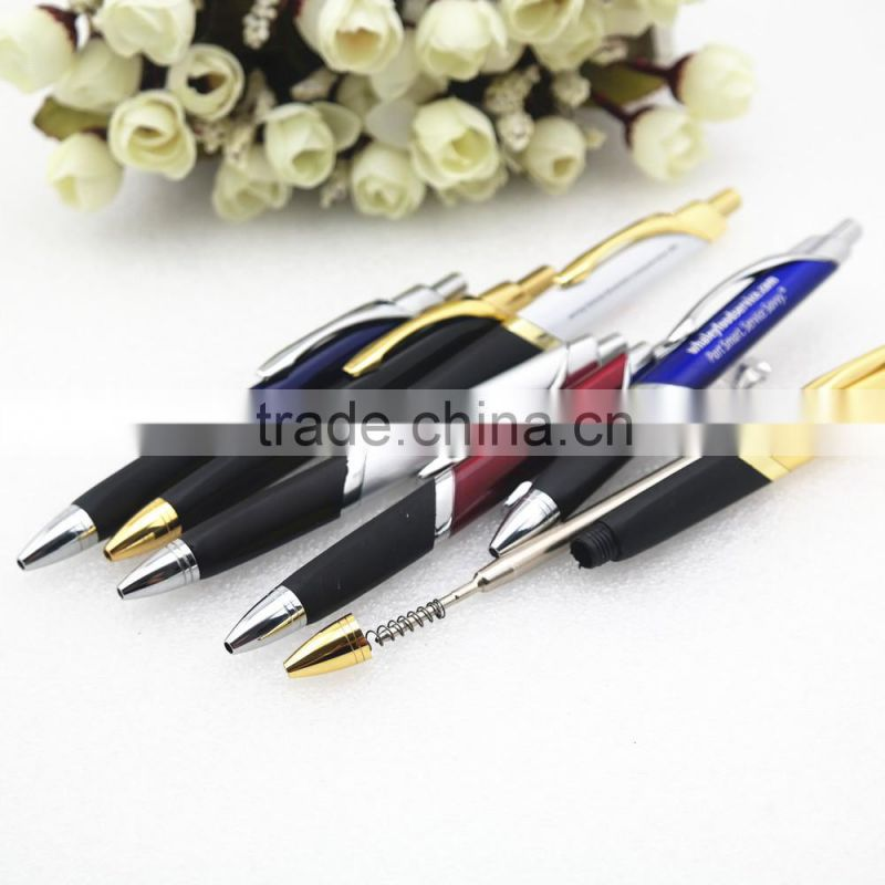 TM-31 promotional triangle shape pen , metal ball pen , advertise ball pen