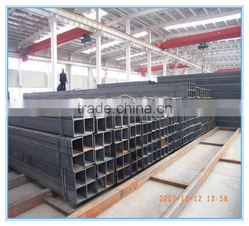 alibaba china square welded pipe/rectangle steel pipe/ welding steel tube