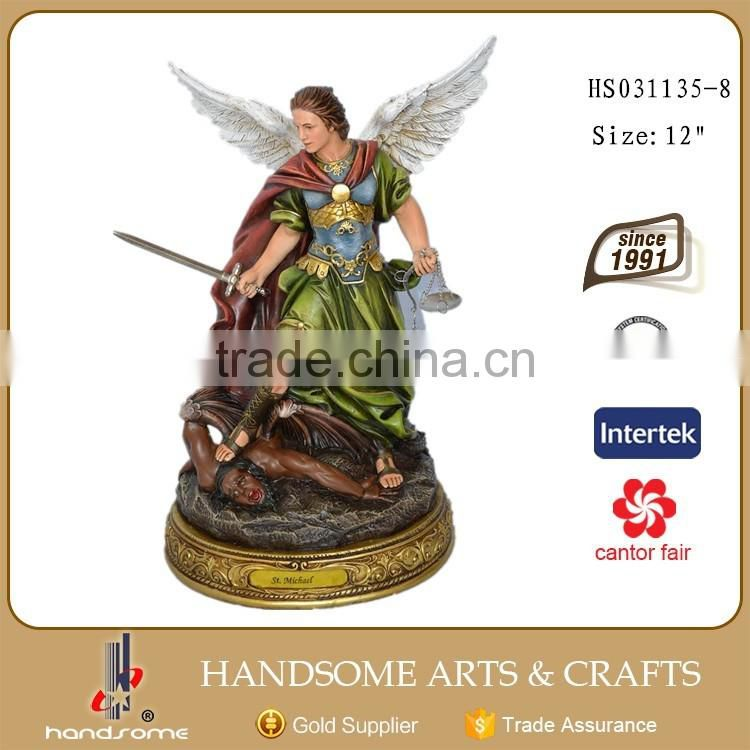 Hot Selling Resin Figurine Archangel Michael