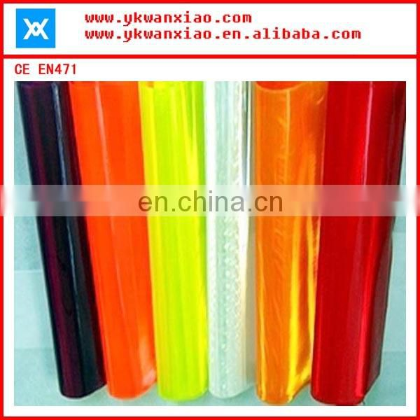 colorful PVC reflective sheeting,reflective material,reflective sheet