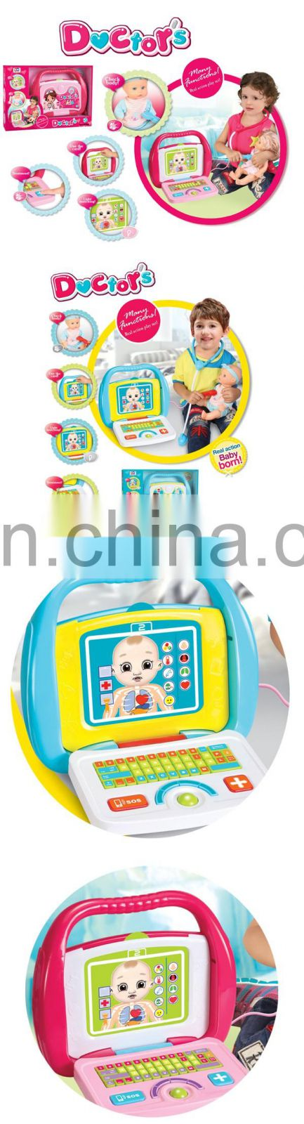 Doctor toy set with light and music for girls and boys