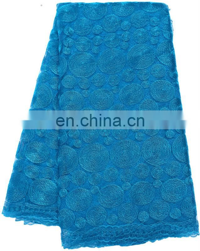 Best selling new design african dry lace fabric