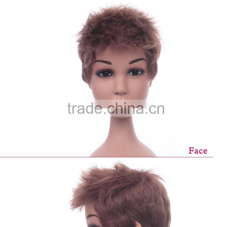 Quality guaranteed High Temperature Fiber child wig