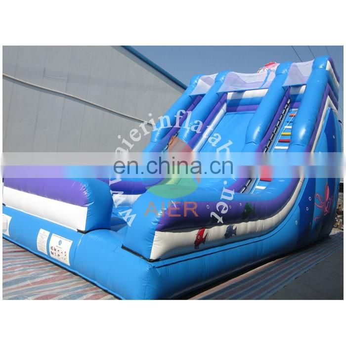 CE certification new design inflatable slide