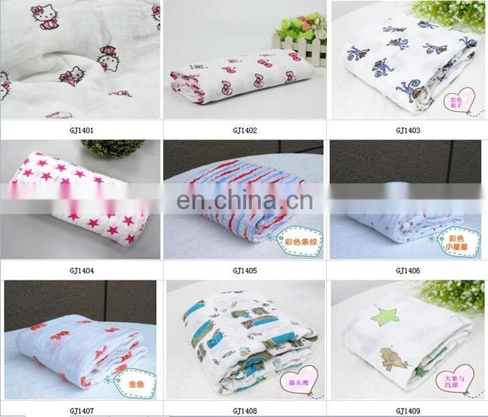 100% muslin cotton baby swaddle blanket for babies