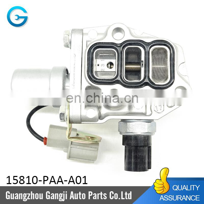 VTEC Solenoid Spool Valve 15810-PAA-A02 15810-PAA-A01 For Odyssey