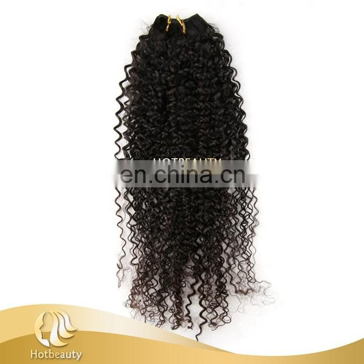 2017 Quality 100% virgin Malaysian woman long hair sixe kinky curl human hair weaving Nice