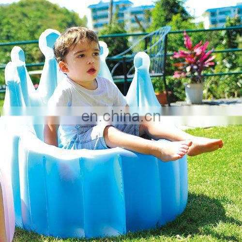 Inflatable Kids Salon Sofa Chair