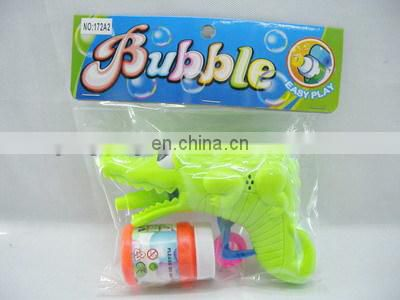 Plastic wholesale kids bubble gun toy