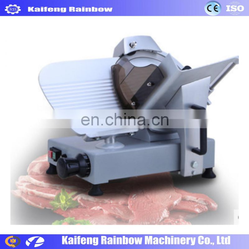 Lowest Price Big Discount Automatic Frozen Meat Slicing Machine Hot pot Mutton roll cutting machine 1-20 mm Thickness Beef