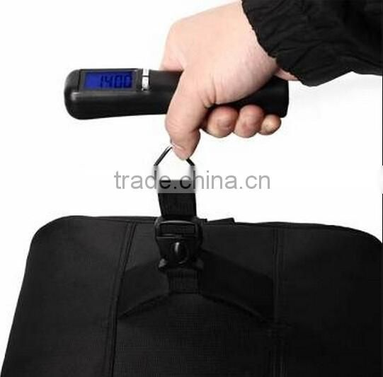 LCD Electronic Portable Scale / Luggage Digital Weighing / digital travel luggage weighing scale