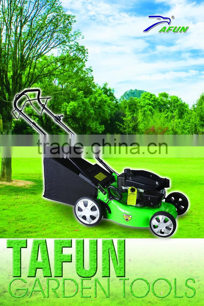 4hp Gasoline Garden Hand Push Rice Tiller Spring Tines Cultivation