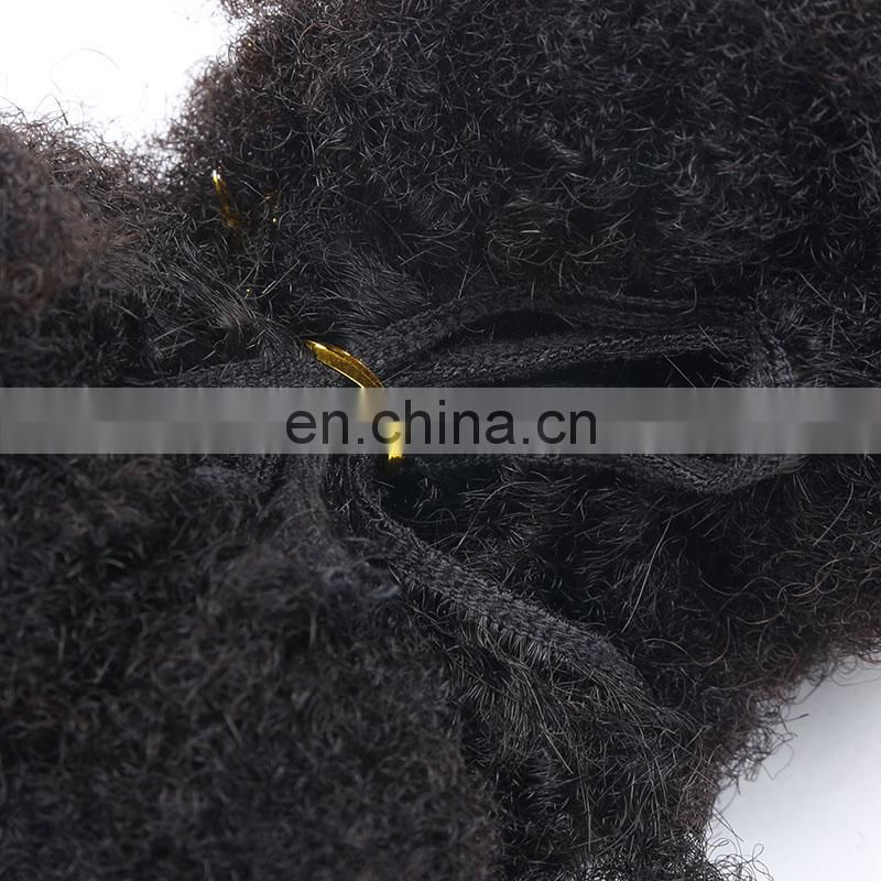 Yotchoi Hair Products Afro Kinky Curl Hot Selling Aliexpress 8A Grade 100% Unprocessed Raw Hair Weave