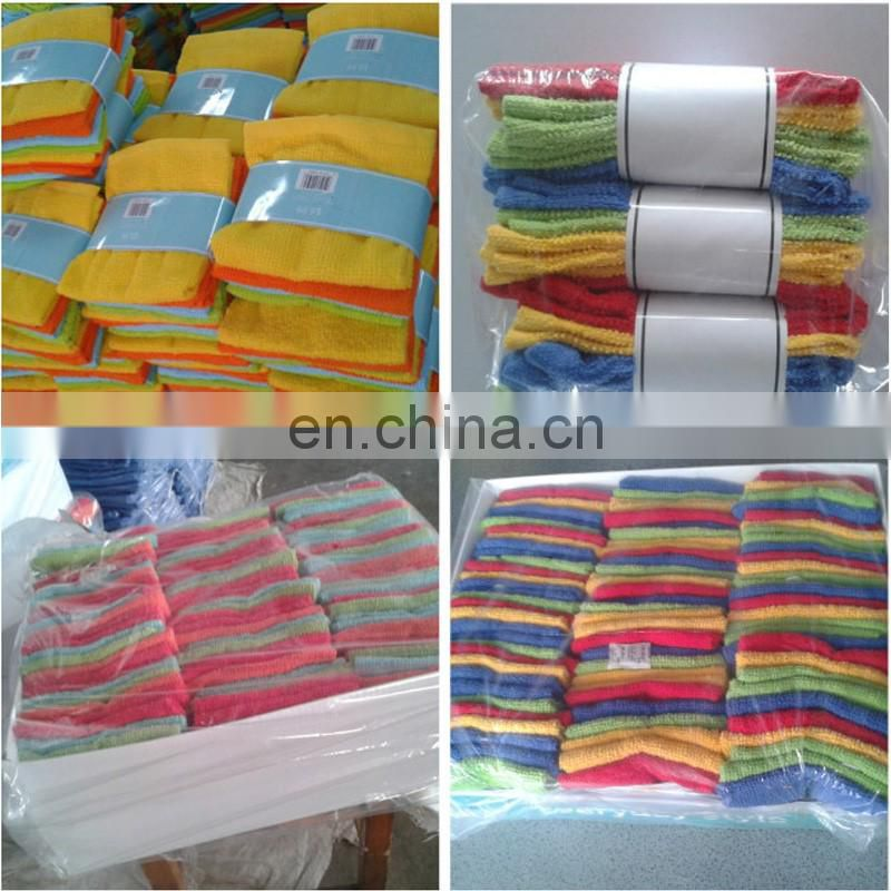 solid color custom cotton bar mop cloth