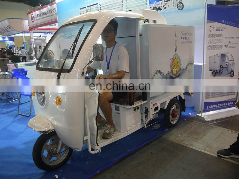 Small  Electric Compressors India Meat Transport Refrigerated Reefer Truck Unit Container for Sale