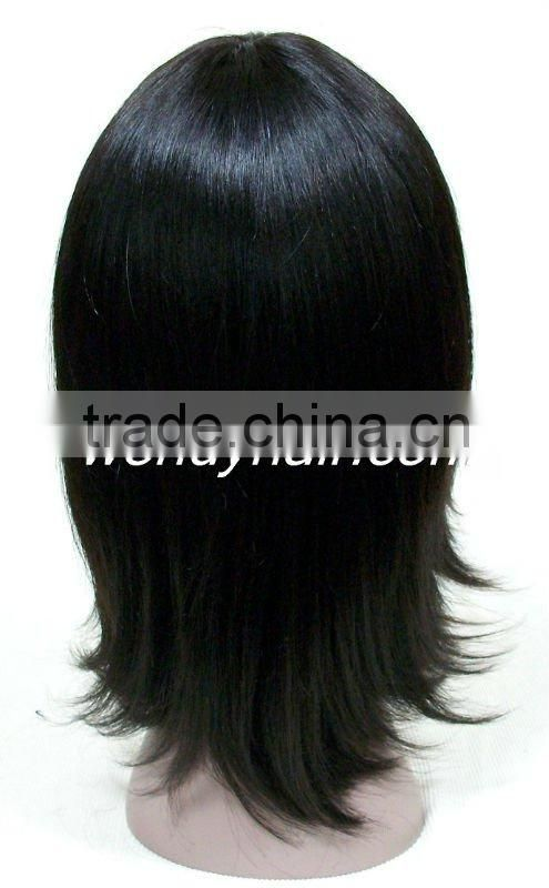 2013 New Virgin Brazilian hair Unprocessed Human hair extension Straight wave full lace hair