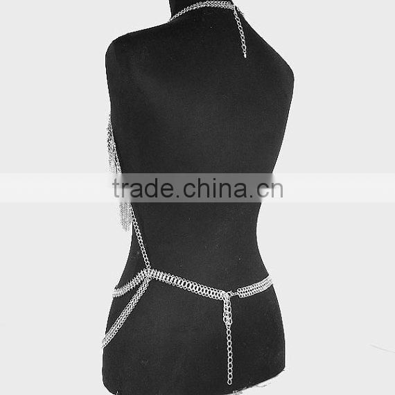 Wholesale alloy shoulder body chain sexy should body chain jewelry ,alloy metal body chain