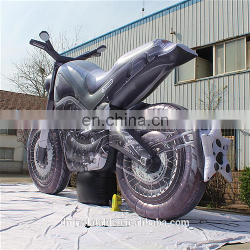Custom made advertising inflatable motorcycle model, giant inflatable motorcycle replica