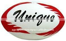 Genuine Leather Rugby Ball