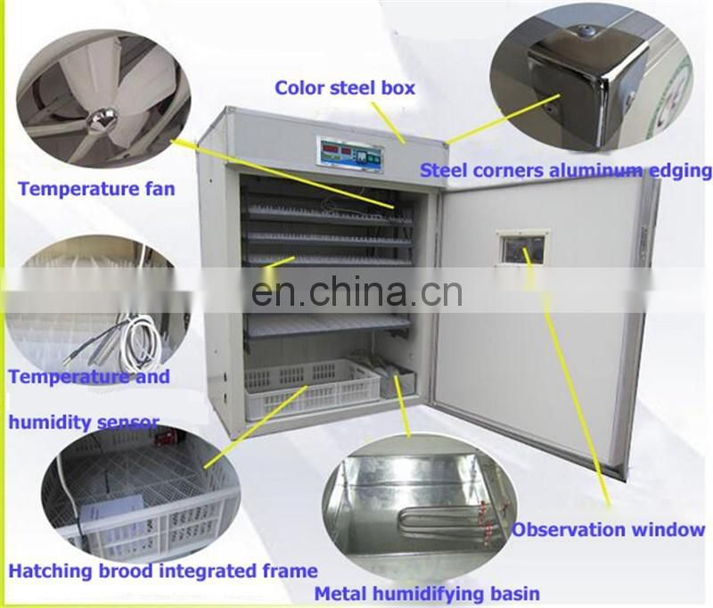 new business ideas automatic water system egg hatching machine 1056 egg incubator machine price